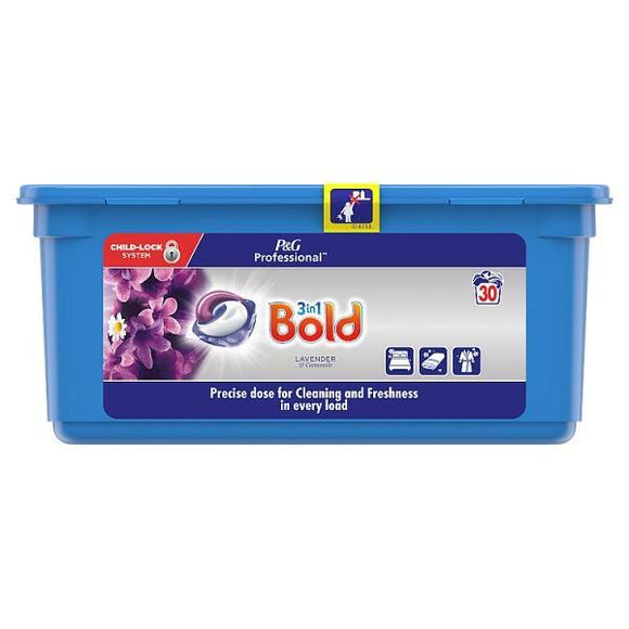 Bold 3in1 Pods Washing Liquid Capsules Lavender & Camomile 90 Washes