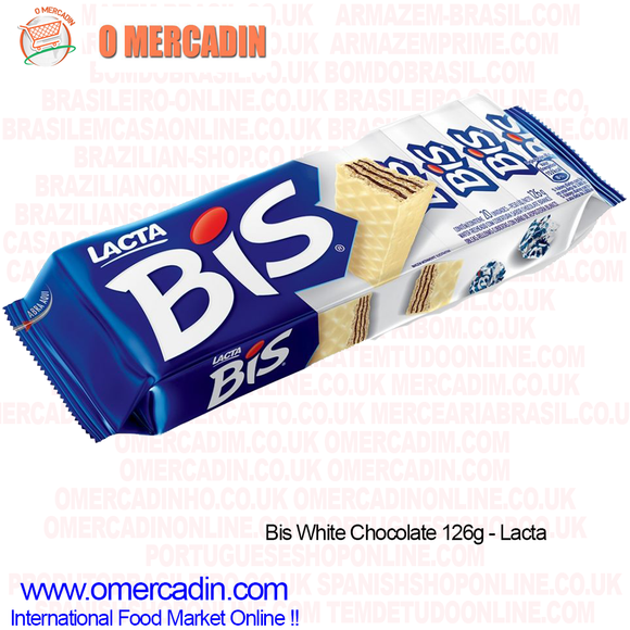 BIS CHOCOLATE BRANCO / Kraft White Chocolate  126g - O Mercadin