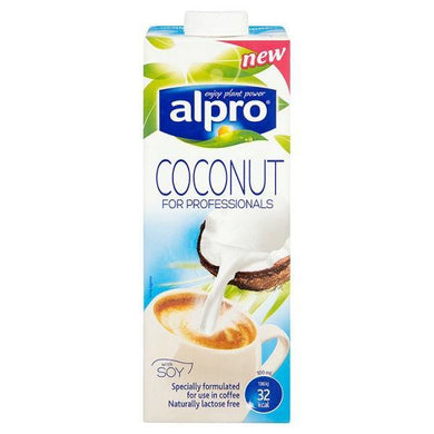 Alpro Coconut Soy Drink for Professionals with Soy 1L - o-mercadin