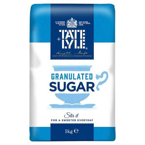 Granulated Cane Sugar 1kg - Tate & Lyle