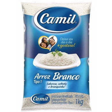 Arroz 1kg / Rice 1kg - CAMIL - O Mercadin