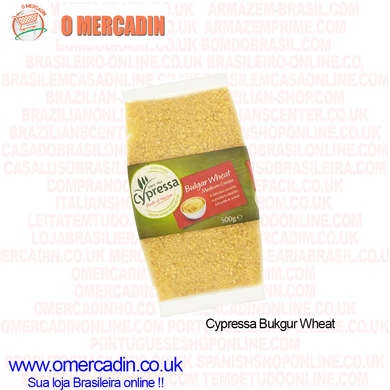 Cypressa Bulgar Wheat Medium Grain 500g / Trigo para Kibe - o-mercadin