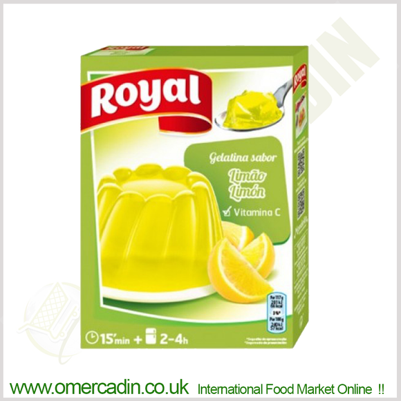 Limon jelly | GELATINA LIMAO 2x85g ROYAL - O Mercadin