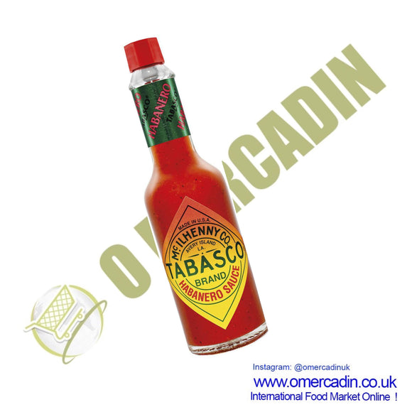 Tabasco Habanero Sauce 60ml - O Mercadin