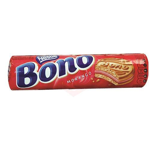 BOLACHA BONO morango | Strawberry Biscuit  140g - NESTLE
