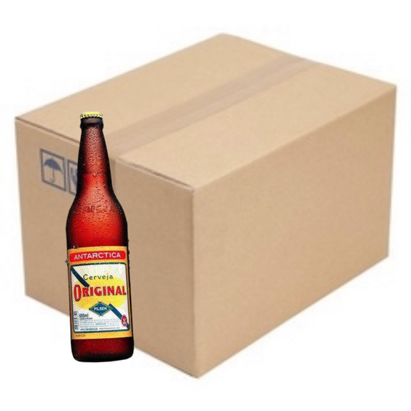 Pack of Cerveja Antarctica Original 6 x 600ml / Bottled Beer