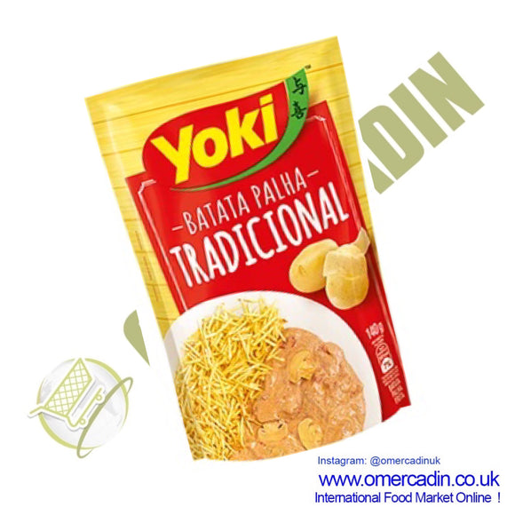 Potato Sticks / BATATA PALHA TRADICIONAL 105g - YOKI