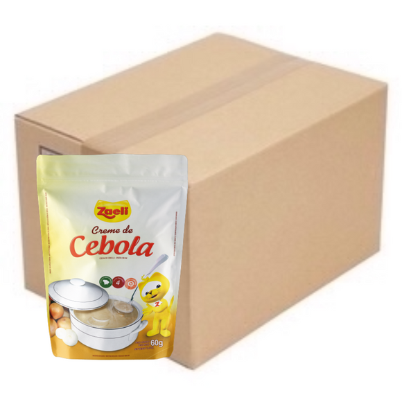Box of Creme de Cebola / Cream of Onion 10 x 60g - ZAELI