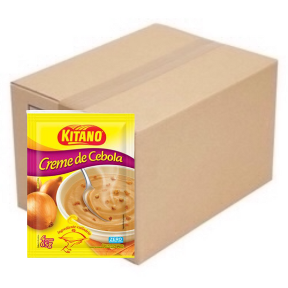 Box of Creme de Cebola | Cream of Onion 10 x 65g - KITANO