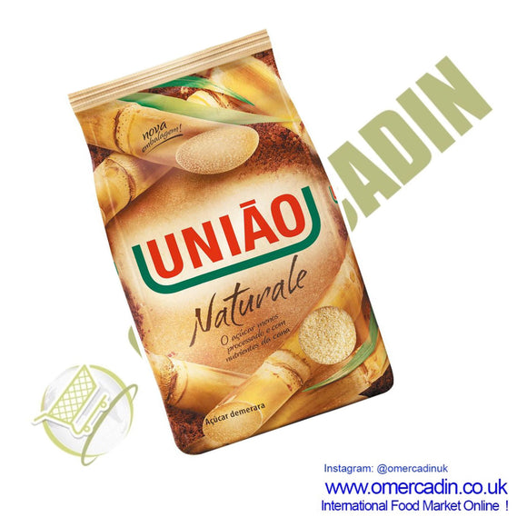 AÇUCAR NATURAL DEMERARA | Demarara natural SUGAR 1KG - UNIAO