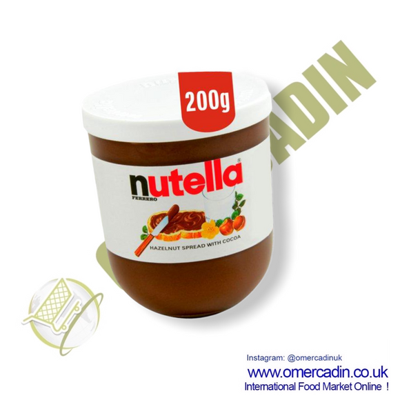 Nutella Hazelnut Chocolate Spread 200G - O Mercadin