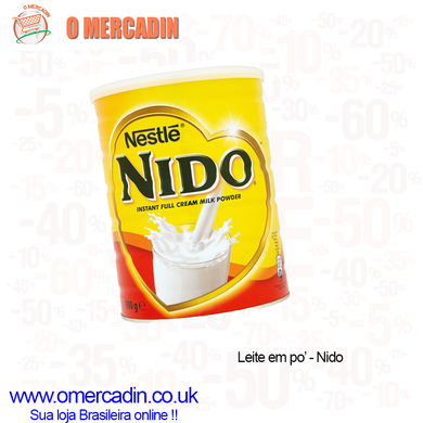 NIDO INSTANT FULL CREAM MILK POWDER 400g - NESTLE - o-mercadin