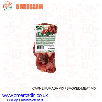 CARNE FUMADA MIX / SMOKED MEAT MIX 250g A 300g - o-mercadin