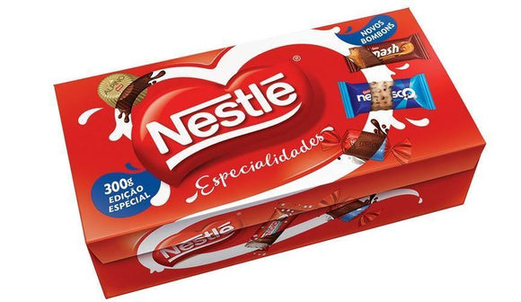 Nestle Chocolate Box / Caixa de Bombom Especialidades 355gr - Nestle