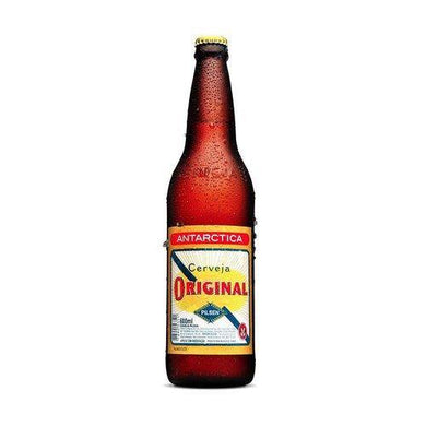 Antarctica Original 600ml Cerveja 4.7% vol/Bottled Beer - O Mercadin