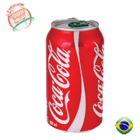 COCA COLA  CAN 330ML - o-mercadin