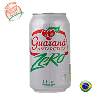 GUARANA ANTARCTICA ZERO  LATA 350ml - o-mercadin