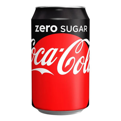 COCA COLA ZERO CAN 330ML - o-mercadin