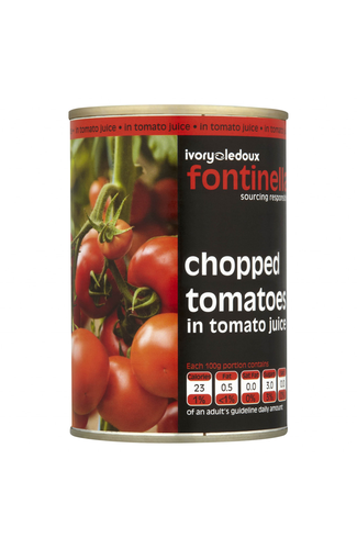 Fontinella Chopped Tomatoes 400g