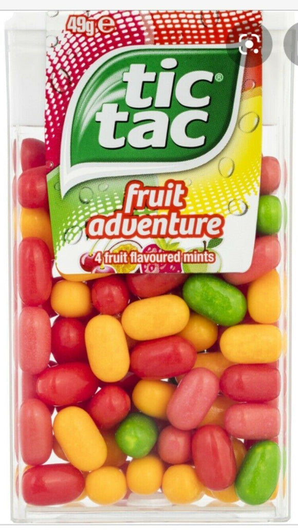 Tic Tac Fruit Adventure 18g
