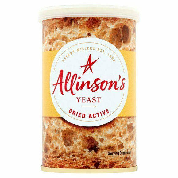 Dried Active Yeast 100g ALLINSON'S - O Mercadin