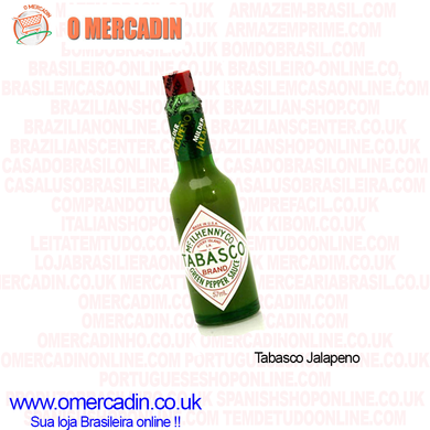Tabasco Jalapeno Sauce 57ml - o-mercadin