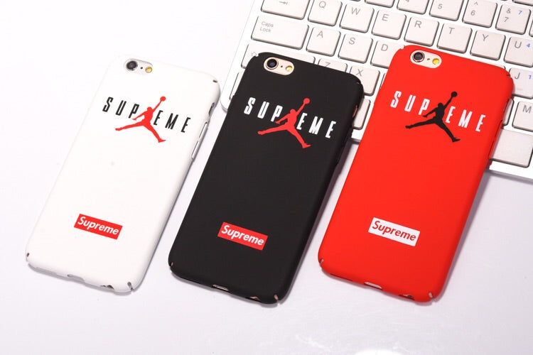 e134f5312b5fb Supreme & Jordan iPhone Case
