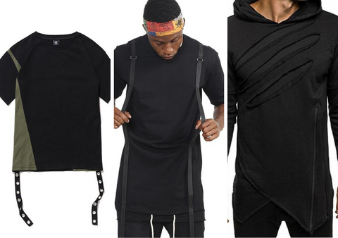 Techwear Shirts Collage - NinjaDark