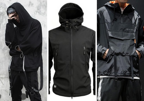 Techwear Jackets Collage - NinjaDark