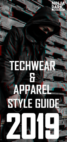 Techwear & Apparel [Style Guide 2019] Pinterest Pin - NinjaDark