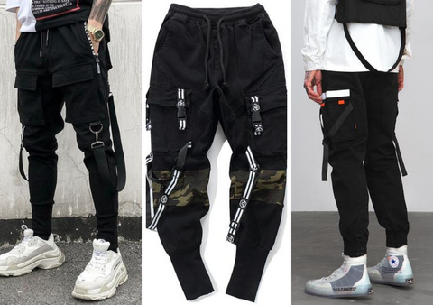 Techwear Pants Collage - NinjaDark