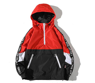 Seeker X Finder Hooded Waterproof Lightweight Windbreaker Jacket - Ninjadark