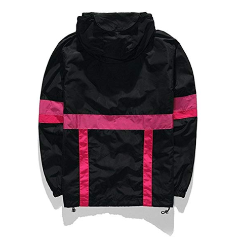 Life Is Short Lightweight Hoodie Zip-up Reflective Windbreaker Jacket - Ninjadark
