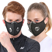 Anti Fog N95 Mask with 10 Filters - Ninjadark