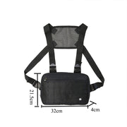 Tactical Security Anti Theft Chest Bag - Ninjadark