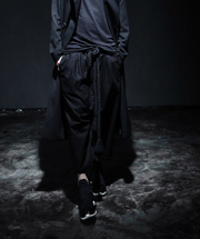 Urban Dragon Drop Crotch Techwear Kimono Pants - Ninjadark