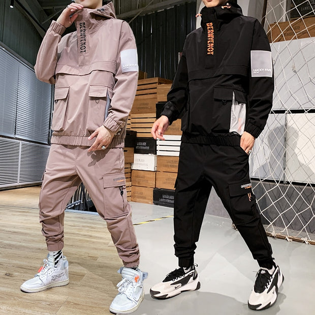 Active Techwear Jacket+Pants 2PC Set