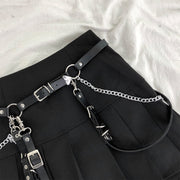 Techwear Women's Adjustable Belt/Leg Chain