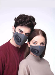 Electric Fan Breathable Face Mask (Chargeable)