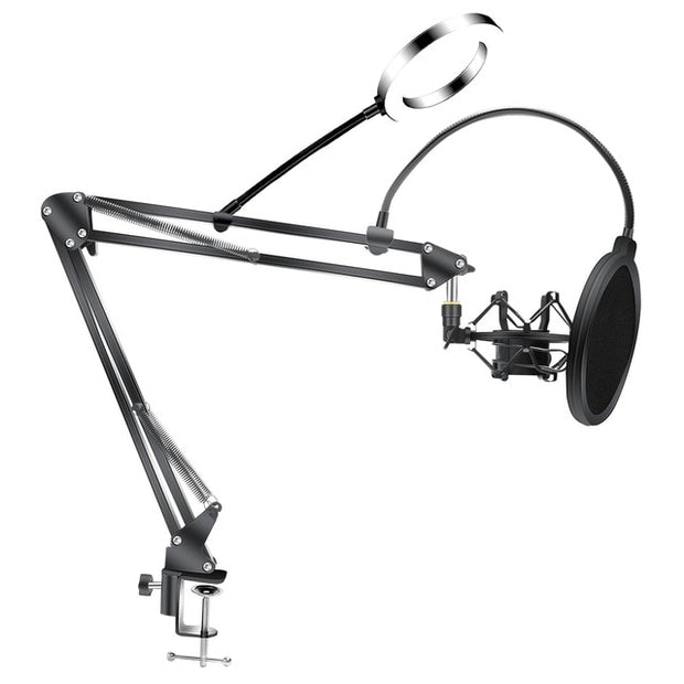 Microphone Stand Bm800 Holder w/ Universal Shock Mount