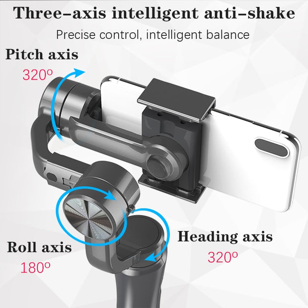 Orsda 3 Axis Smart Video Stabilizer for Smartphone