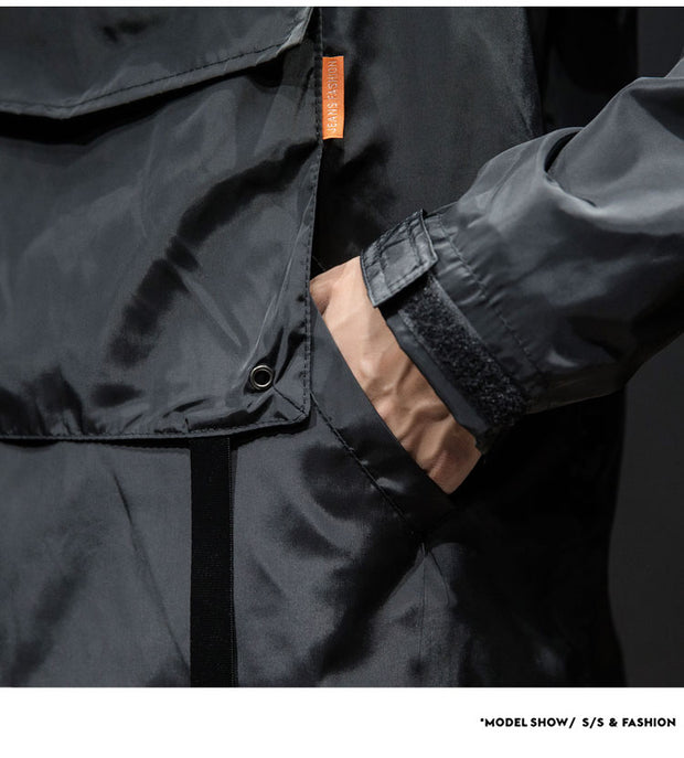 'Winter's Coming' Techwear Jacket