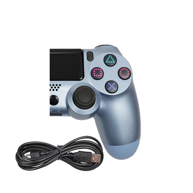 Wireless Bluetooth Controller for PS4-PS3 (Multi-color)