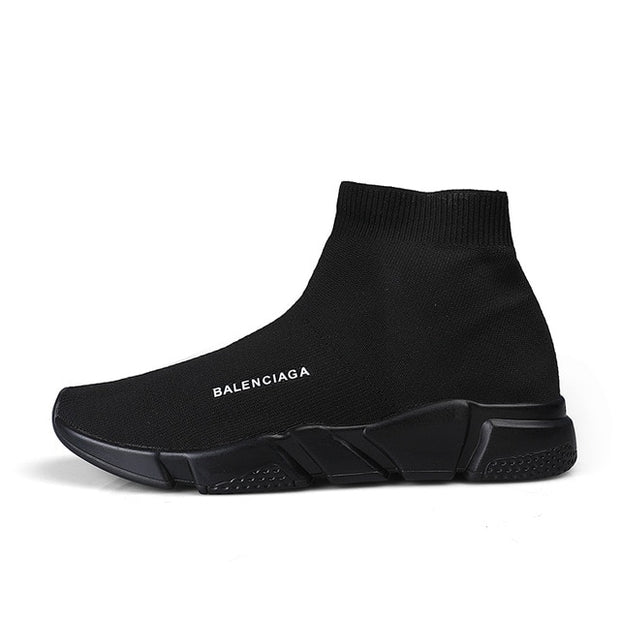 Black Ninja Slip on Sneakers