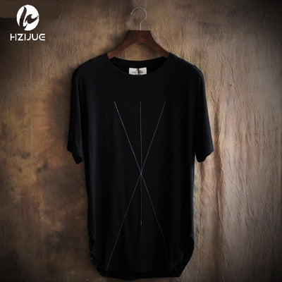 X8 - Black Oversized Techwear T-Shirt - Ninjadark
