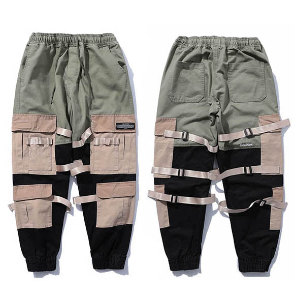 Backstreet Rebel IV - Multi Color Techwear Cargo Pants - Ninjadark