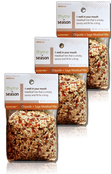 Chipotle and Sage Meatloaf 3-pack (Organic + Non-GMO)