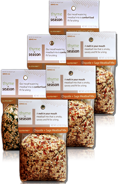 Meatloaf Mix Sampler 6-pack (Organic + Non-GMO)