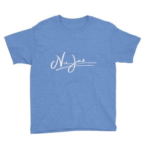 Kids Nu-Jaz Short Sleeve T-Shirt (Sky Blue)
