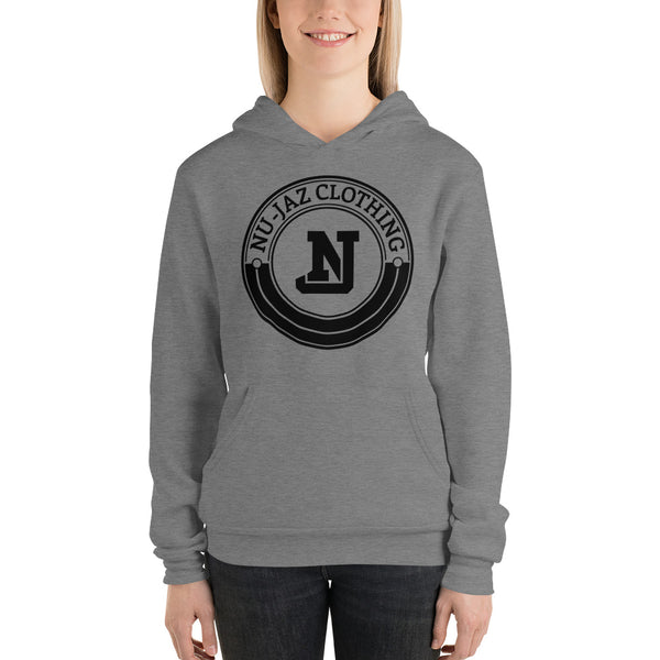 Women's Nu-Jaz Clothing Hooded Sweatshirt (Grey)